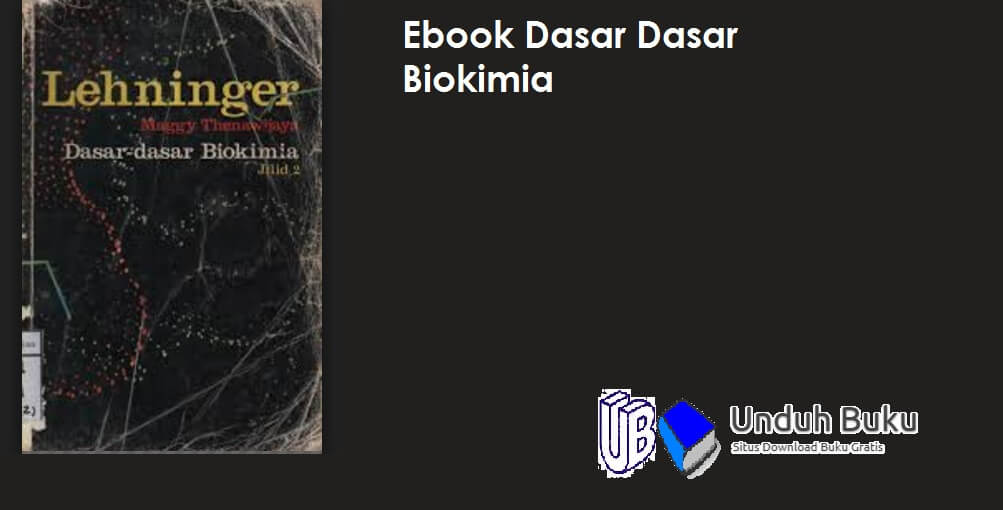 Download Ebook Biokimia