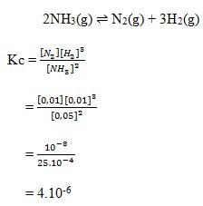 Kesetimbangan Kimia No 17