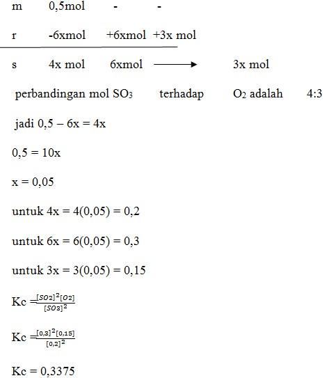 Kesetimbangan Kimia No 9