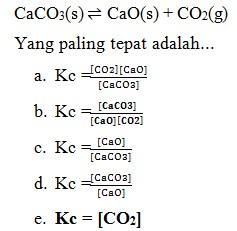 Kesetimbangan Kimia No2