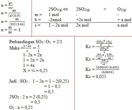 soal kesetimbangan kimia no 52