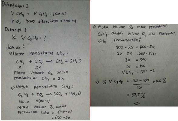 soal hukum dasar kimia no 18 dan jawaban
