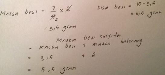 soal hukum dasar kimia no 8 dan jawaban
