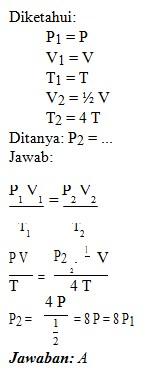 soal teori kinetika gas no 1