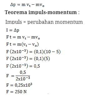 soal momentum dan impuls-14