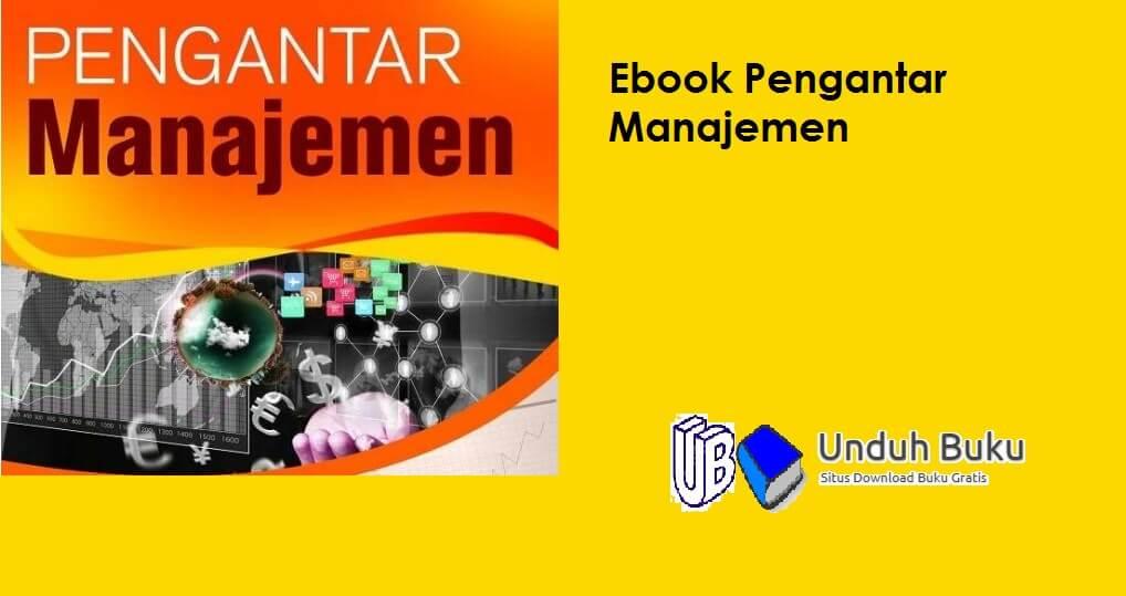 Ebook Pengantar Manajemen PDF
