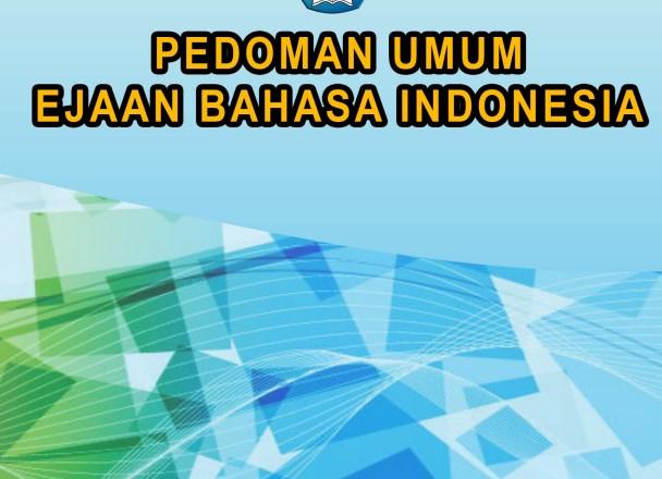 Ebook Pedoman Umum Ejaan Bahasa Indonesia (PUEBI)