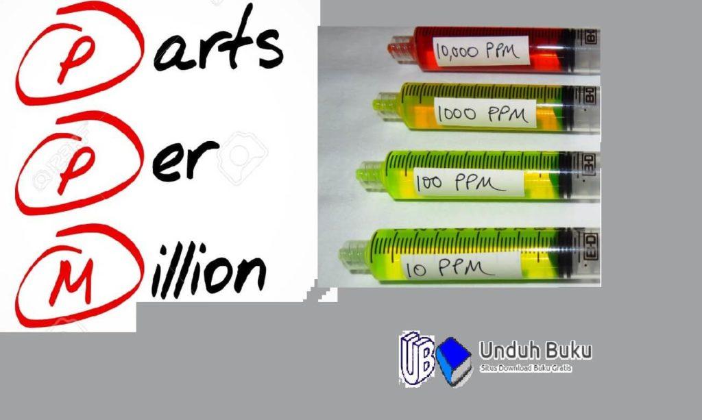 Pengertian Part Per Million