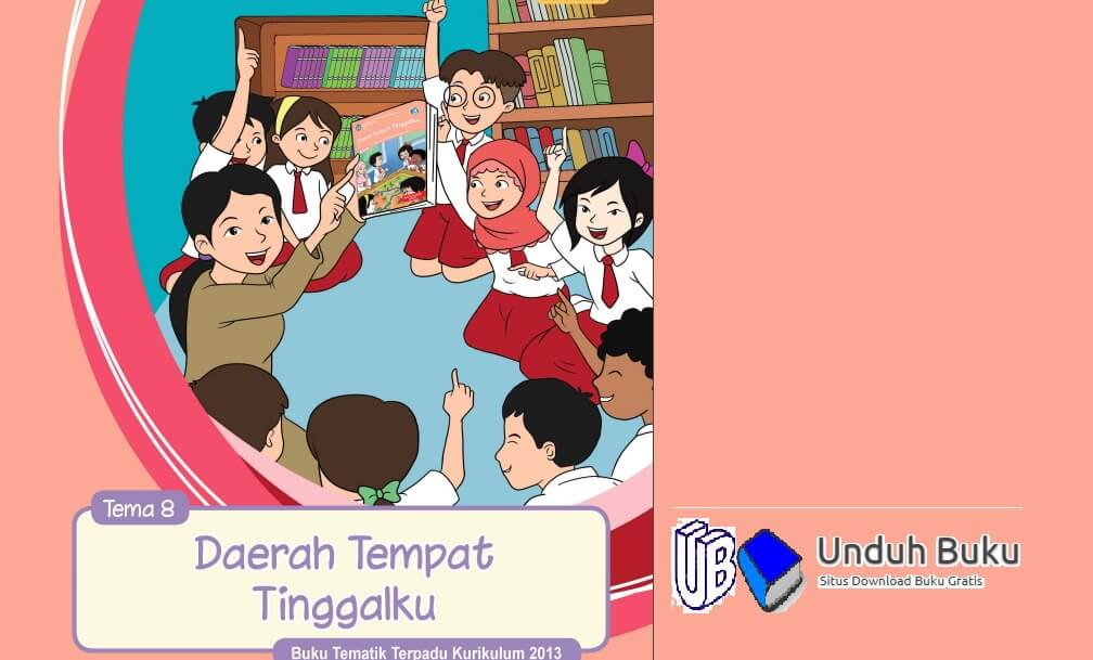 Buku Tema 8 Kelas 4 SD/MI Kurikulum 2013 Revisi 2018
