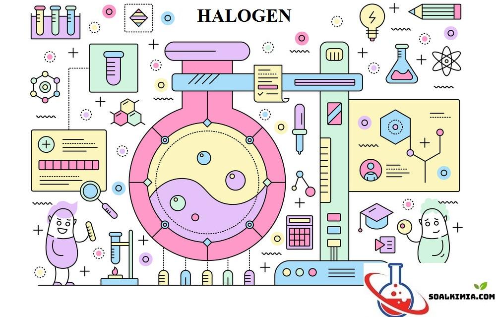 soal halogen