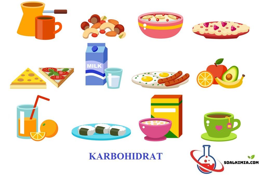 Soal Karbohidrat