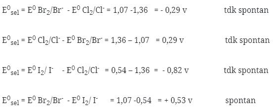 Soal kimia unsur no 58