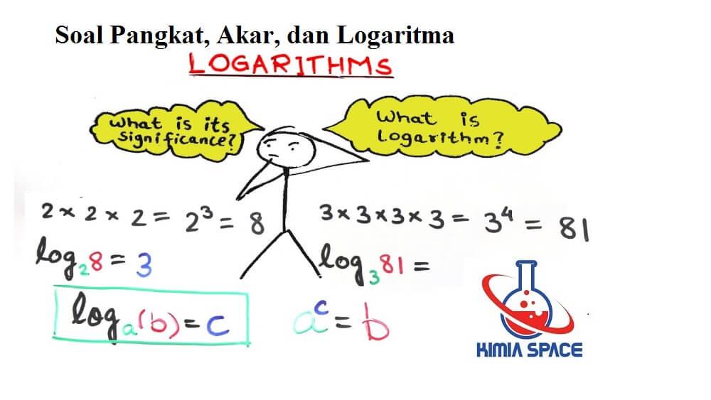 Soal Pangkat, Akar, dan Logaritma