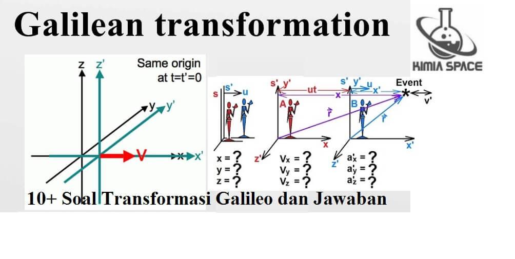 Soal Transformasi Galileo dan Pembahasan