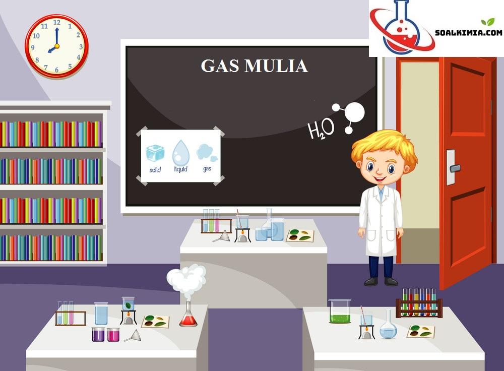 Soal gas mulia
