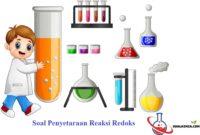 Soal penyetaraan reaksi redoks