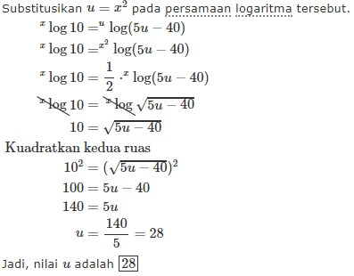 logaritma no 6