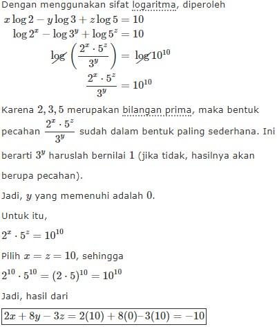 logaritma no 7