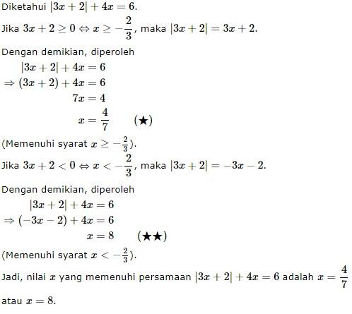 persamaan nilai mutlak no 10