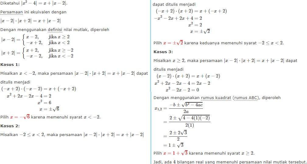 persamaan nilai mutlak no 11