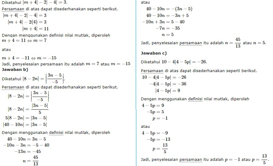 persamaan nilai mutlak no 12