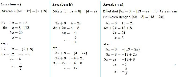 persamaan nilai mutlak no 13