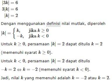 persamaan nilai mutlak no 2