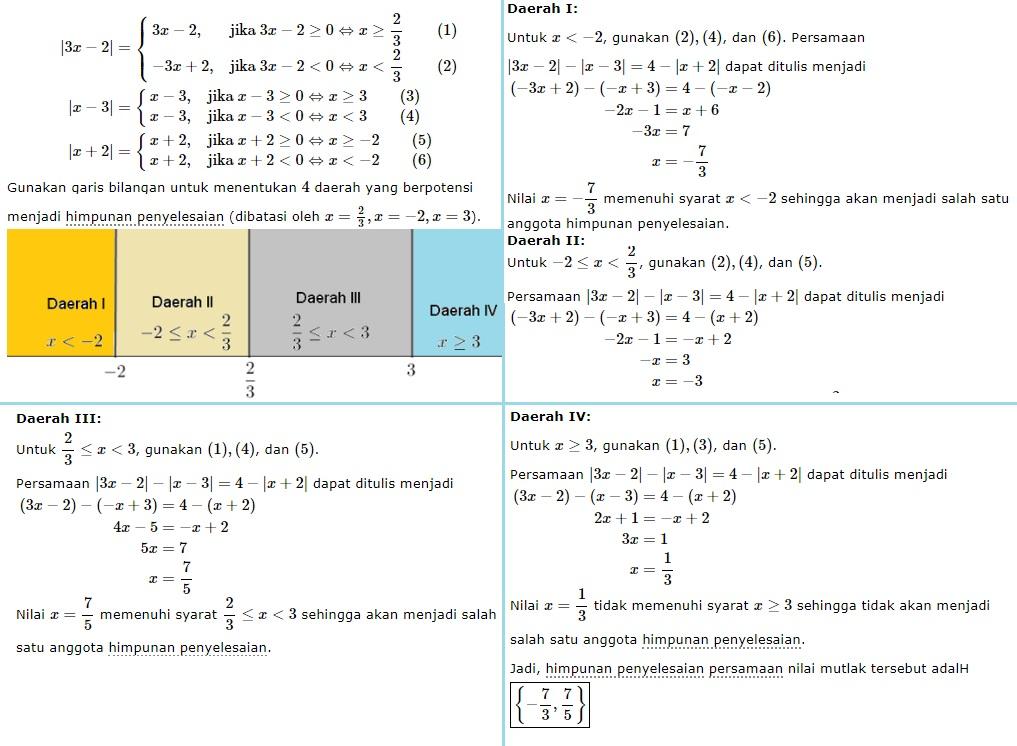 persamaan nilai mutlak no 9