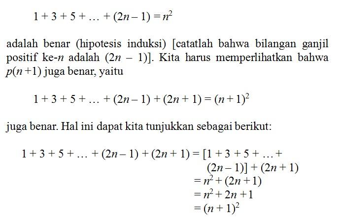 soal induksi matematika no 3