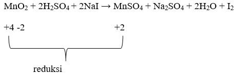 soal penyetaraan reaksi redoks no 5