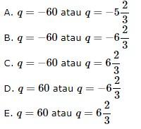 soal persamaan nilai mutlak no 5