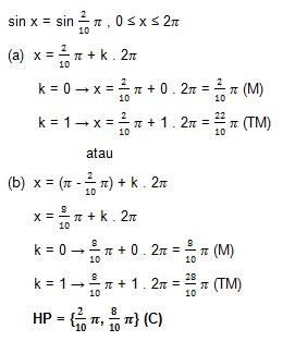 soal persamaan trigonometri dan jawaban no 3