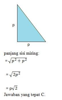 soal pythagoras no 4