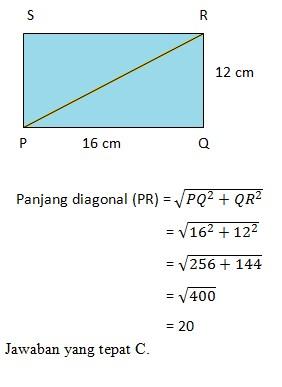 soal pythagoras no 8