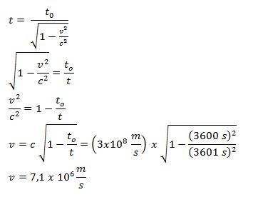 soal relativitas khusus no 1