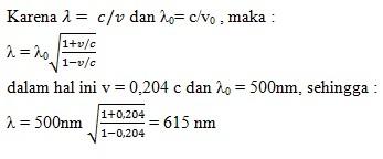 soal relativitas khusus no 2