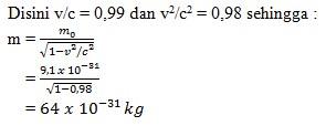 soal relativitas khusus no 3