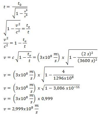 soal relativitas khusus no 6