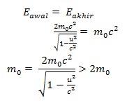 soal teori relativistik no 10