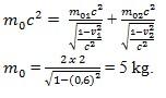 soal teori relativistik no 6