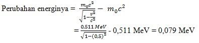 soal teori relativistik no 9