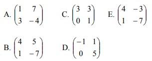soal transformasi geometri no 4-1