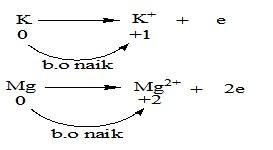 reaksi redoks penurunan biloks