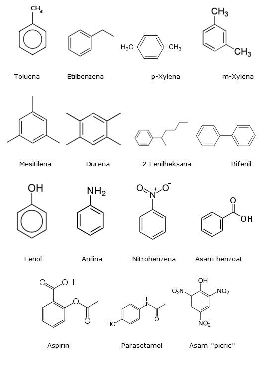 Senyawa-senyawa turunan benzena