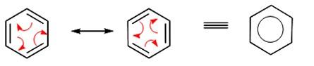 struktur resonansi benzena