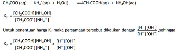 turunan rumus hidrolisis 1
