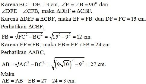 contoh soal kesebangunan no 37-1