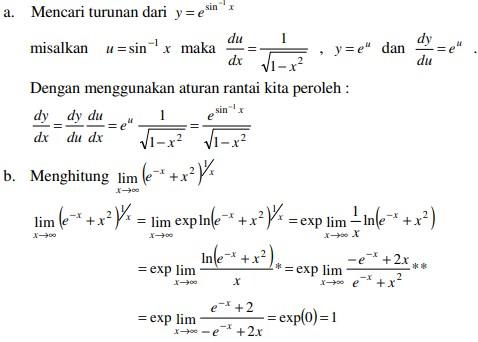 soal kalkulus dan jawaban no 2