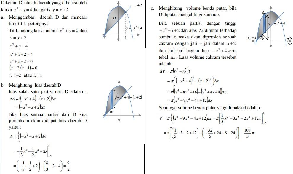 soal kalkulus dan jawaban no 4