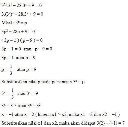 soal eksponen no 11